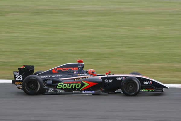 Marcos Martínez, primera fila en Silverstone