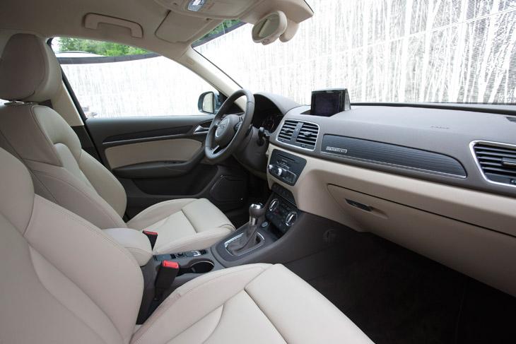 Audi Q3 contacto