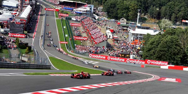 Así es el circuito de Spa Francorchamps