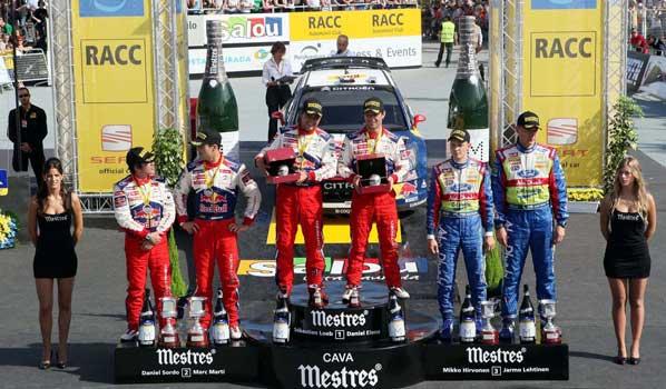 Sordo y Citroën cumplieron sus objetivos