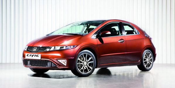 Honda actualiza el Civic