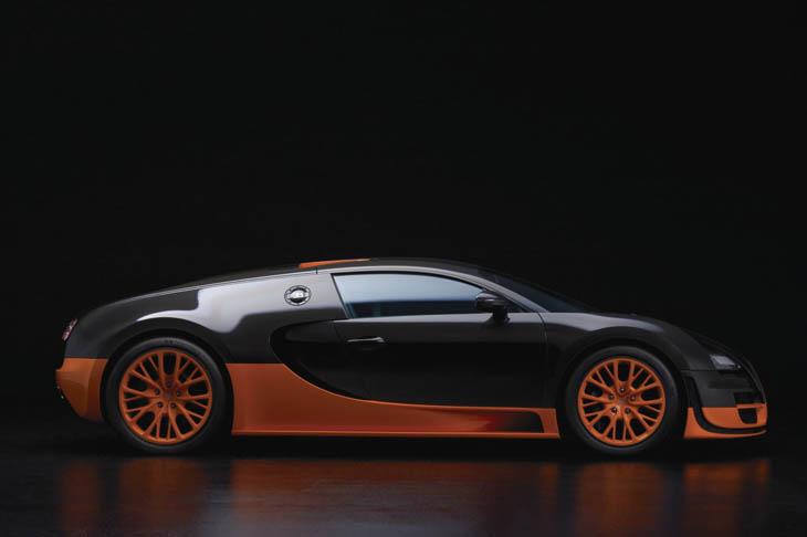 Bugatti Veyron Super Sport, el coche más rápido del mundo