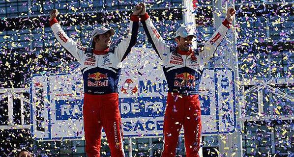 WRC: Loeb, campeón del mundo
