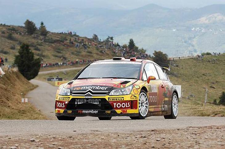 Rally de Alsacia 2010