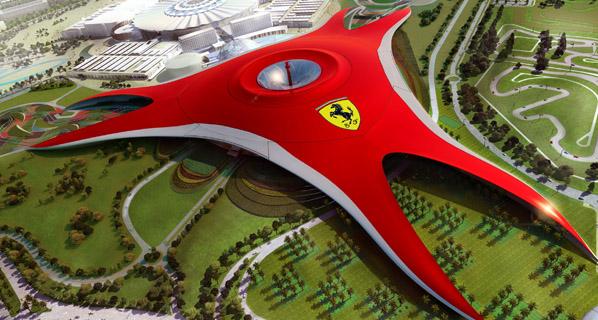 Así es Ferrari World, el parque temático del Cavallino