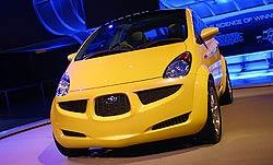 Subaru en Detroit 2004