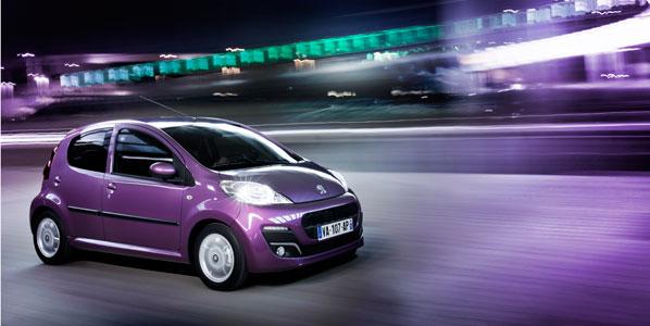 Peugeot, la marca líder en enero de 2012