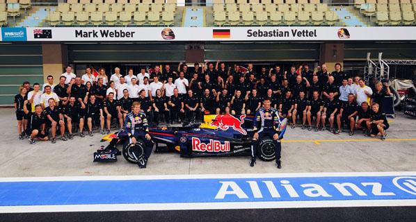 Equipos de F1 de la temporada 2010