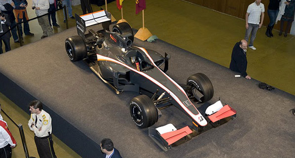 Hispania Racing Team presenta su monoplaza