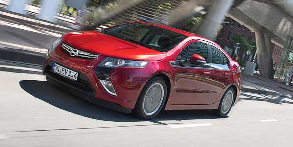 El Opel Ampera/Chevrolet Volt, Car of The Year 2012