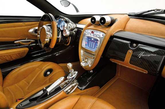 Pagani Huayra, el nuevo deportivo de 730 CV.