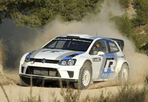 WRC: Volkswagen probó en Almería