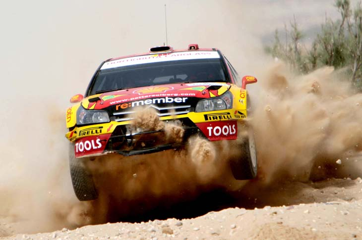 Rally de Jordania 2010.
