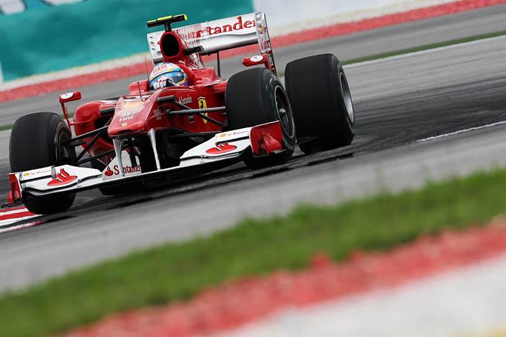 F1: las mejores fotos del GP de Malasia 2010