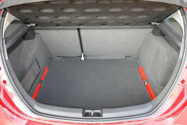 El Golf ofrece un amplio espacio interior y en el maletero: el más grande de esta comparativa