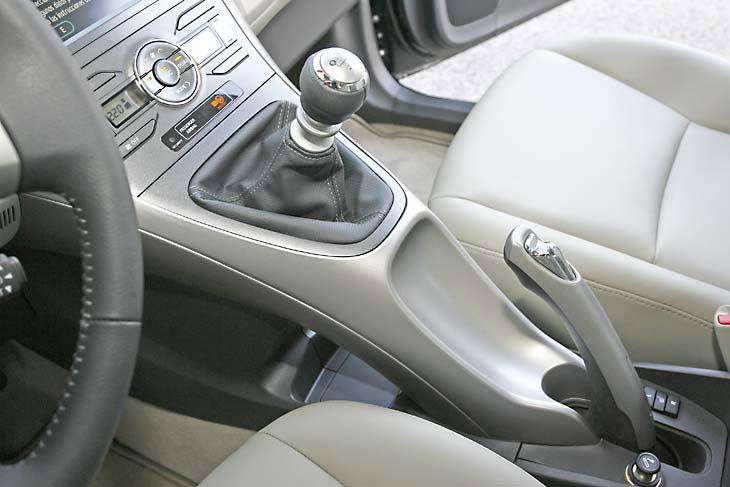 Toyota Auris D-4D: consola central