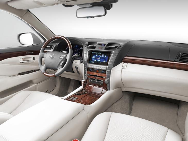 Lexus LS 600h: galería