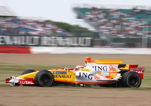 Marcos Martínez probó el Renault R28
