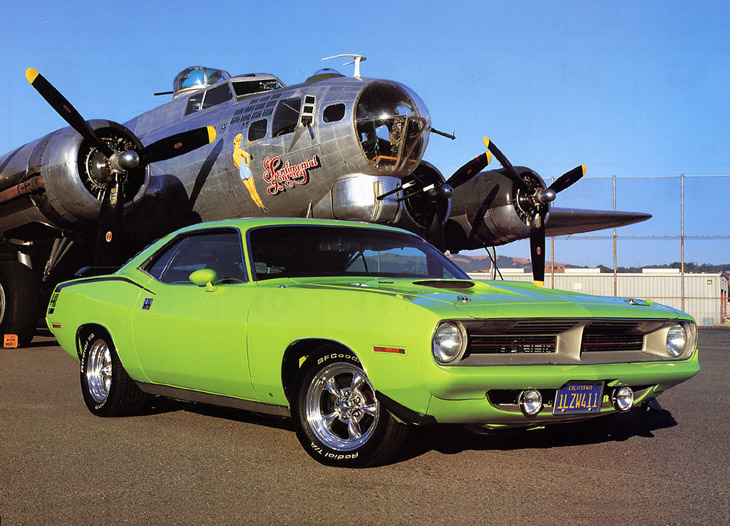 Plymouth Barracuda 1970.