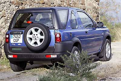 Land Rover Freelander Kitesurf