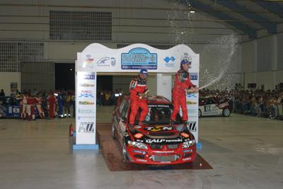El piloto luso, primer Grupo N de la temporada en alcanzar el podio.