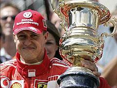 Michael Schumacher, premio Príncipe de Asturias de los Deportes