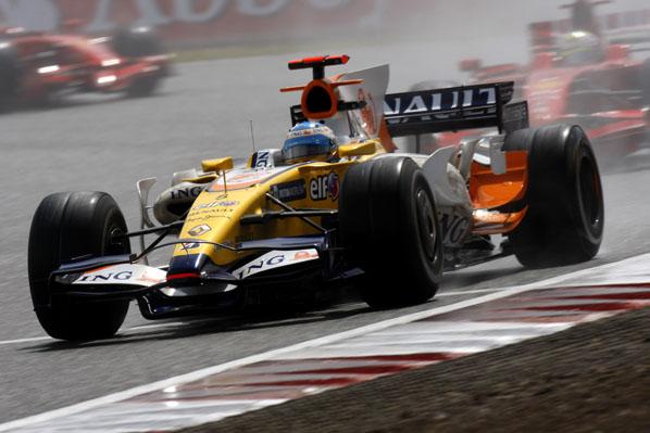 Alonso en cabeza
