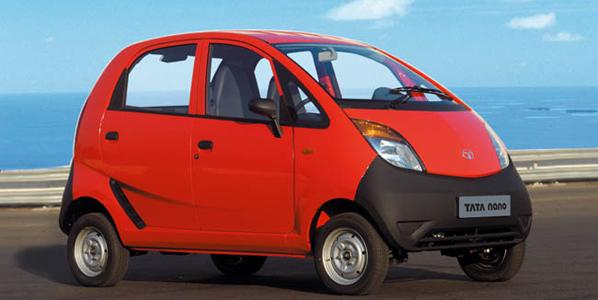 El Tata Nano, a la venta en la India en abril