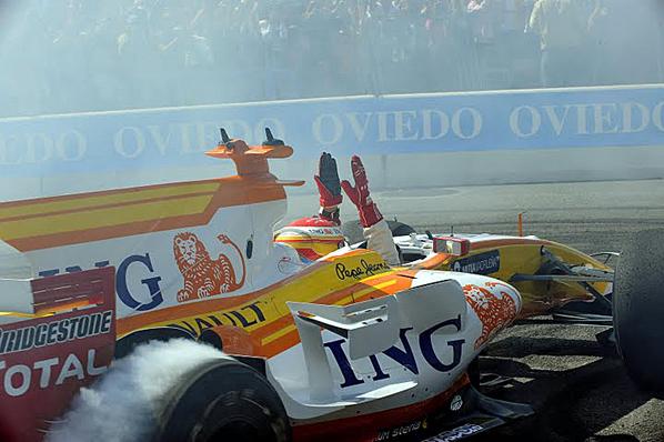 "Alonso: ""Nunca olvidaré este día"""
