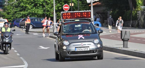 Fiat 500, coche oficial de la Carrera de la Mujer