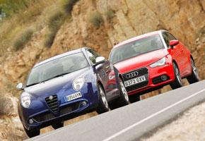 Alfa Romeo Mito 1.4 TB Multiair TcT vs Audi A1 1.4 TFSi Stronic