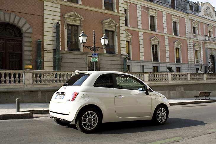 Fiat 500: la prueba