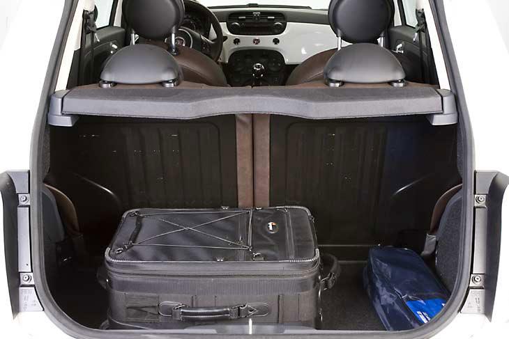 Fiat 500: interiores