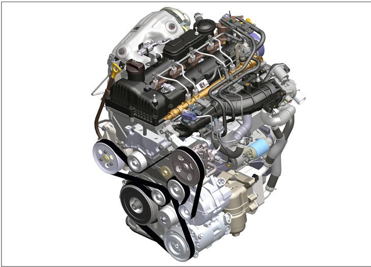 Nuevos motores R Diesel de Hyundai.