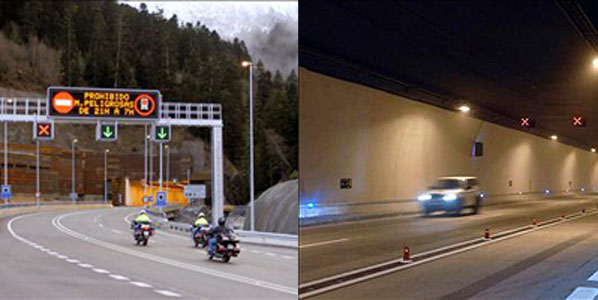 El túnel de Vielha ya está en servicio
