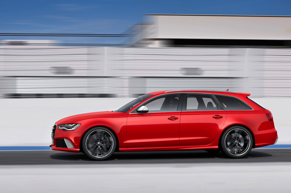 Audi RS6 Avant, un familiar de carreras.