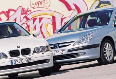 Comparativa: BMW 520i / Peugeot 607 2.2