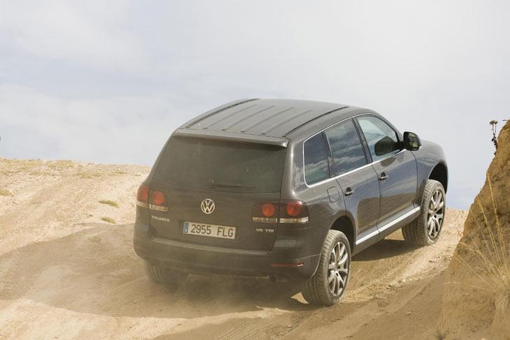 Volkswagen Touareg: en campo