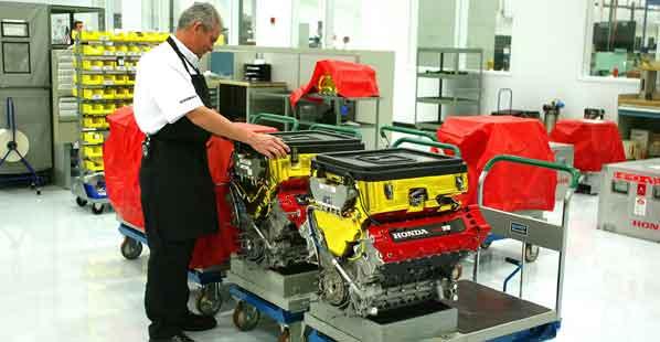 IndyCar: Motores de 4 cilindros