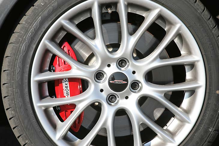 Mini John Cooper Works: detalles