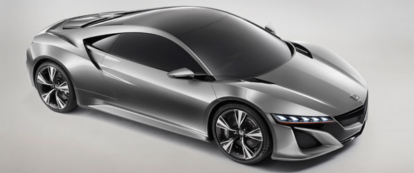Honda NSX y nuevo CR-V