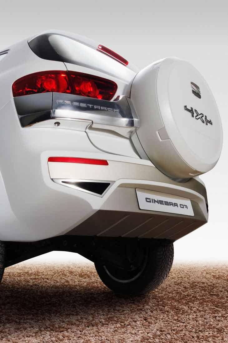 Seat Altea Freetrack Prototipo Ginebra