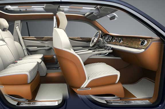 Bentley EXP 9 F SUV