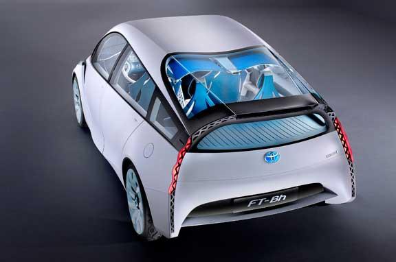 Nuevo Toyota FT-Bh, mechero híbrido