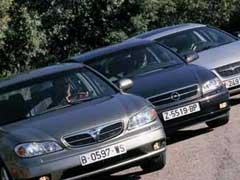 Chrysler 300M / Nissan Maxima / Opel Omega