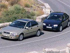 Volkswagen Bora 1.9 TDI 115 CV / Volvo S40 1.9 D