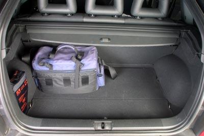 El maletero es suficiente, pero sin exigencias.