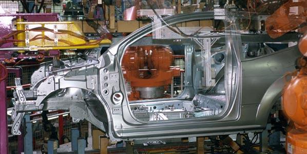La producción de coches cae a niveles de 1997
