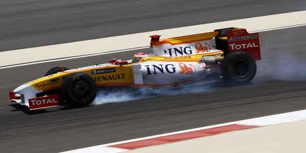 Mejoras aerodinámicas en los F1