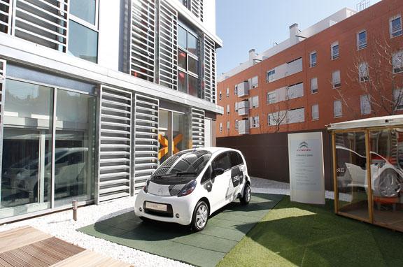 Citroën C-Zero, eléctrico de 4 plazas.